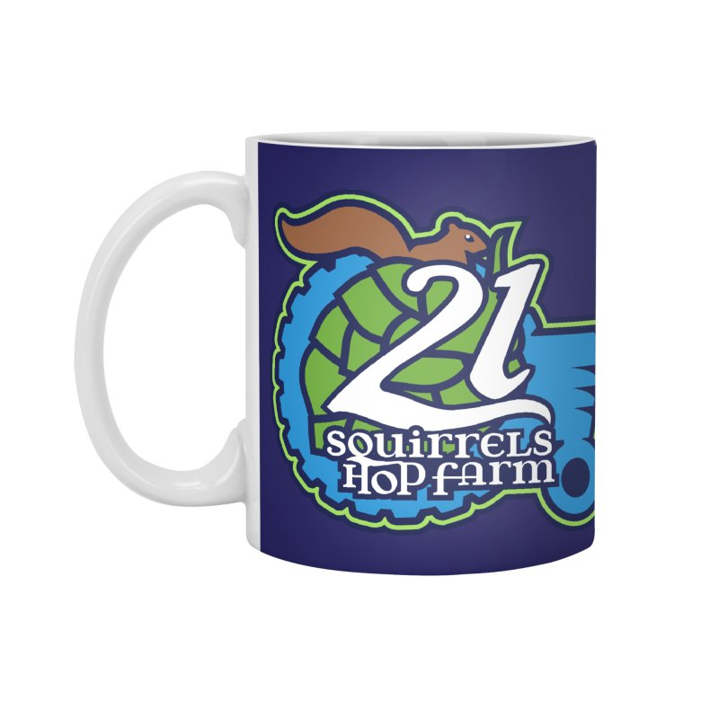 21 Squirrels Hop Farm Accessories Mug by 21 Squirrels Brewery Shop
