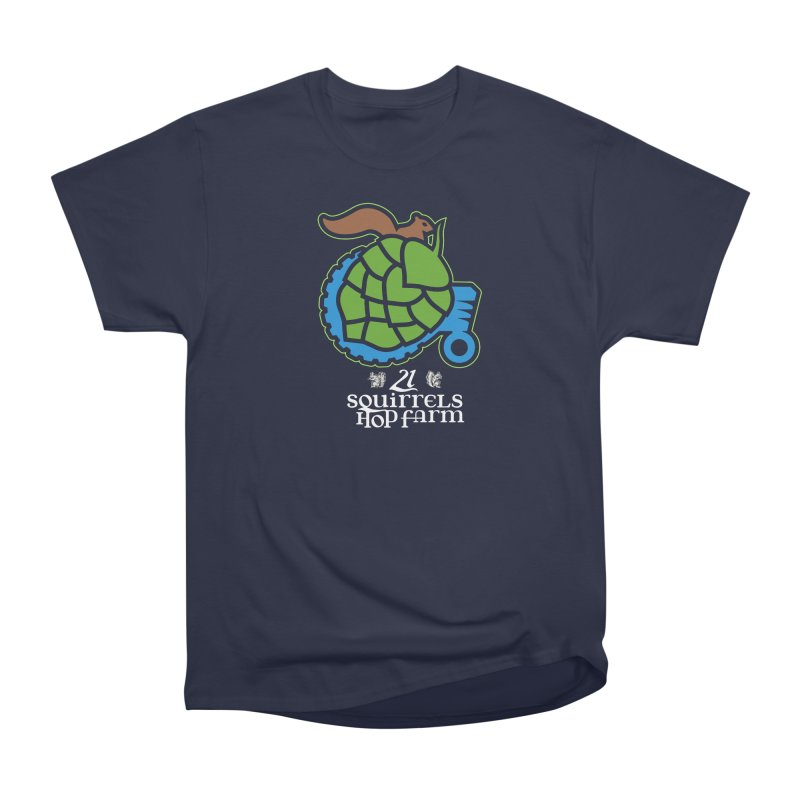 21 Squirrels Hop Farm Men's Classic T-Shirt by 21 Squirrels Brewery Shop