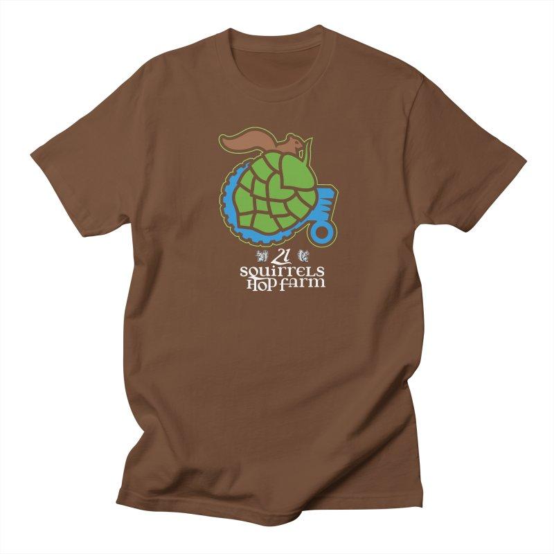 21 Squirrels Hop Farm Men's T-shirt by 21 Squirrels Brewery Shop