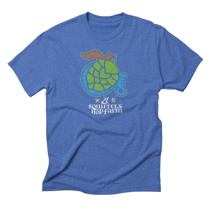 21 Squirrels Hop Farm Men's Triblend T-shirt by 21 Squirrels Brewery Shop