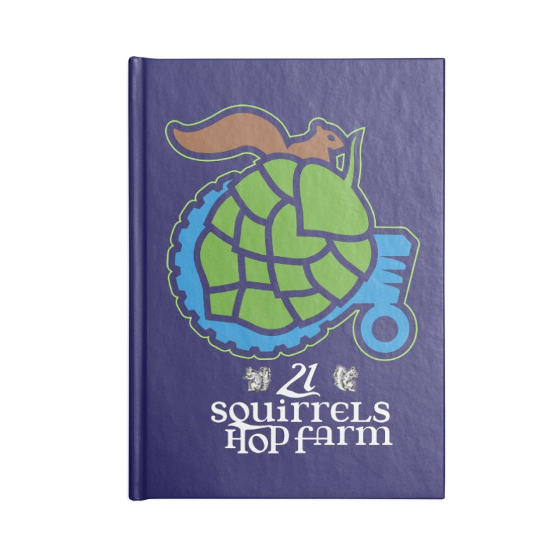 21 Squirrels Hop Farm Accessories Notebook by 21 Squirrels Brewery Shop