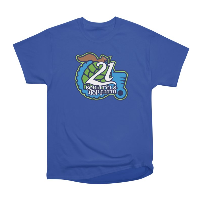 21 Squirrels Hop Farm Women's Classic Unisex T-Shirt by 21 Squirrels Brewery Shop