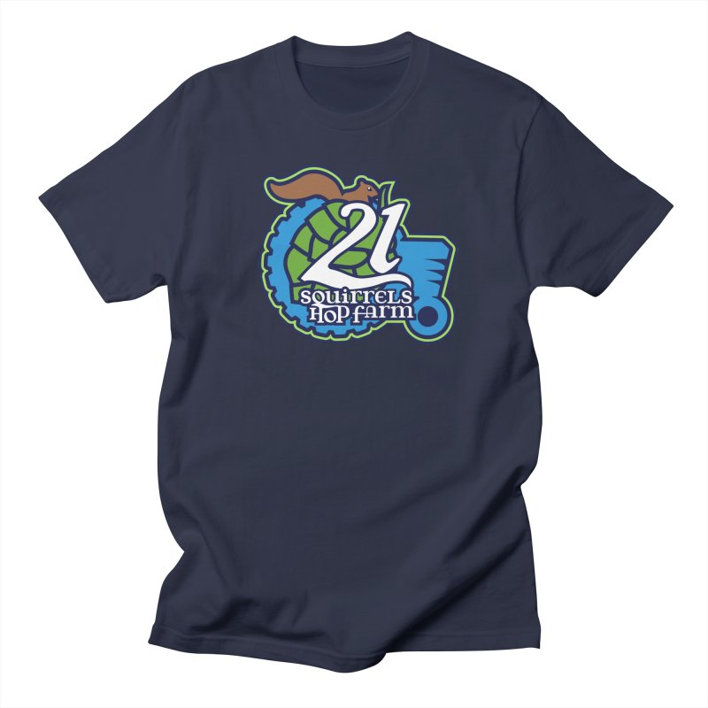 21 Squirrels Hop Farm Men's T-Shirt by 21 Squirrels Brewery Shop