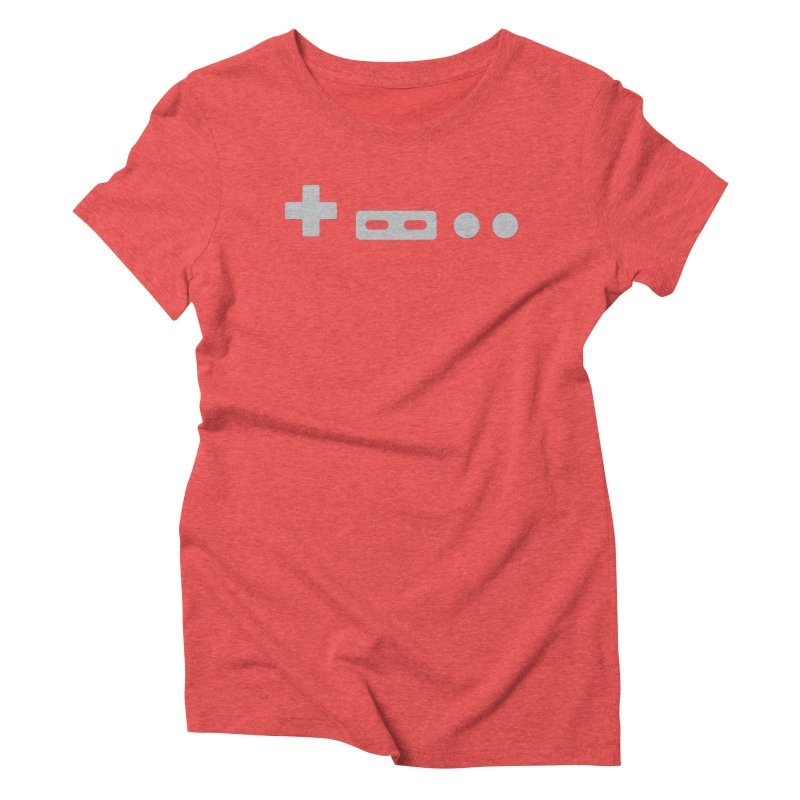 Minimal Controller Women's Triblend T-shirt by 21 Squirrels Brewery Shop