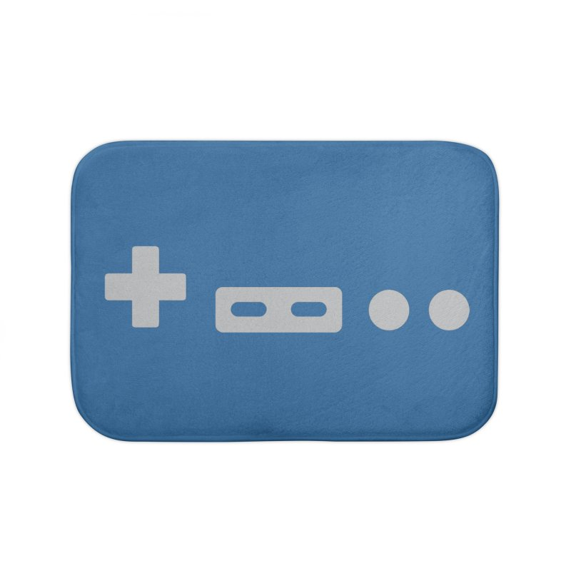 Minimal Controller Home Bath Mat by 21 Squirrels Brewery Shop