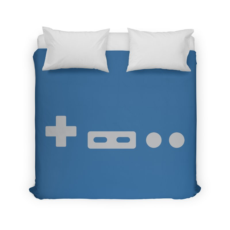Minimal Controller Home Duvet by 21 Squirrels Brewery Shop