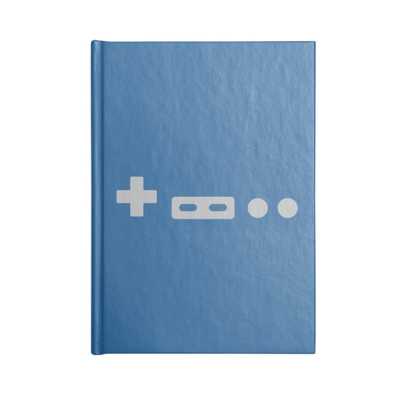 Minimal Controller Accessories Notebook by 21 Squirrels Brewery Shop