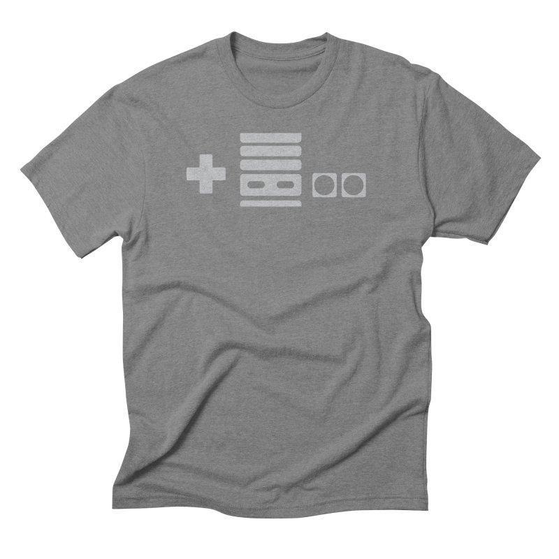 Minimal Controller Alt Men's Triblend T-shirt by 21 Squirrels Brewery Shop