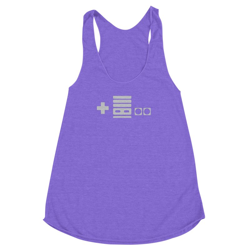 Minimal Controller Alt Women's Racerback Triblend Tank by 21 Squirrels Brewery Shop