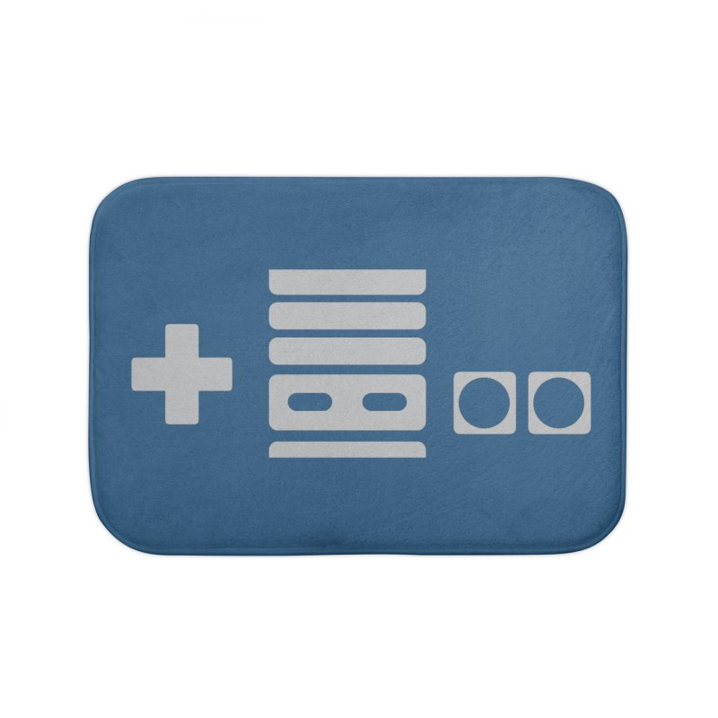 Minimal Controller Alt Home Bath Mat by 21 Squirrels Brewery Shop
