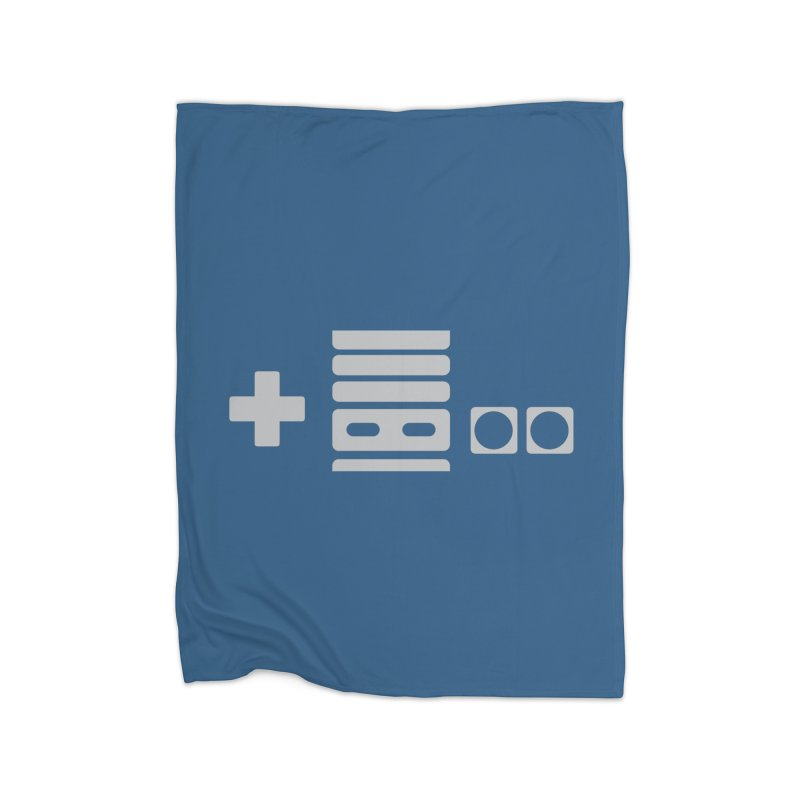 Minimal Controller Alt Home Blanket by 21 Squirrels Brewery Shop
