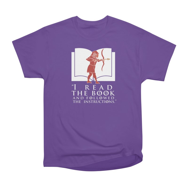 I read the book... white print Men's Classic T-Shirt by 21 Squirrels Brewery Shop