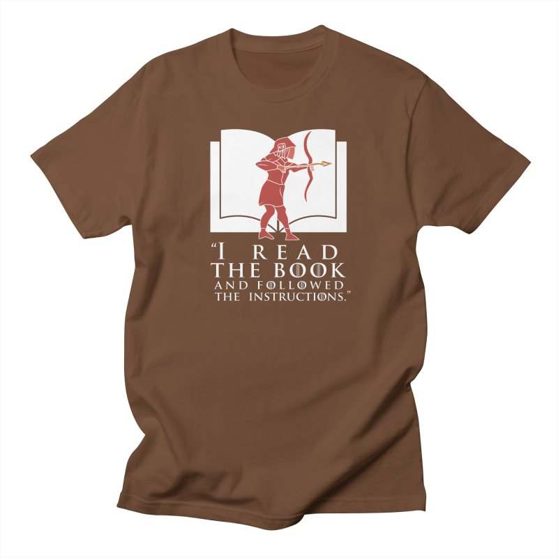 I read the book... white print Men's T-Shirt by 21 Squirrels Brewery Shop
