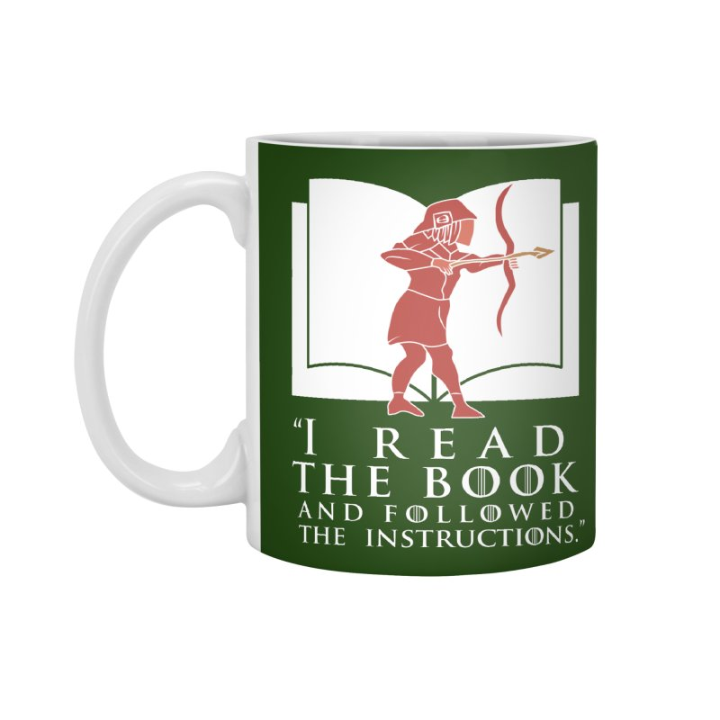 I read the book... white print Accessories Mug by 21 Squirrels Brewery Shop