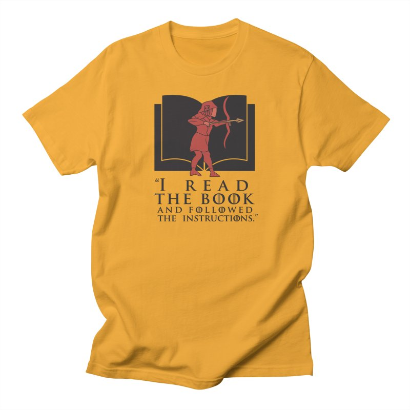 I read the book... dark print Men's T-shirt by 21 Squirrels Brewery Shop
