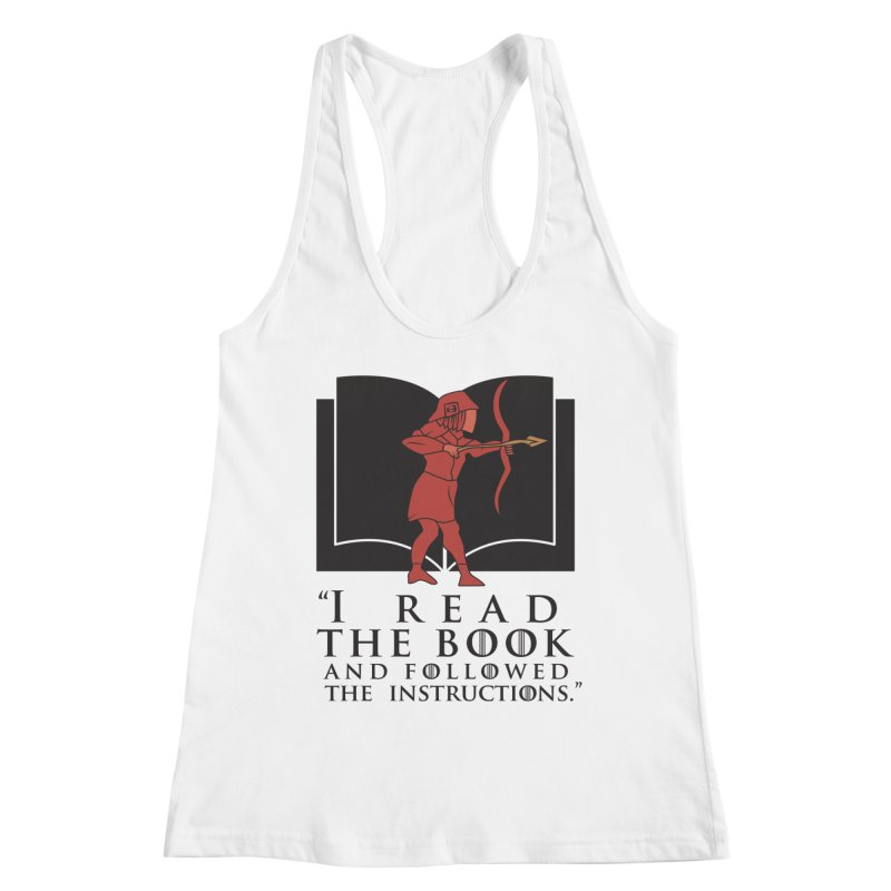 I read the book... dark print Women's Tank by 21 Squirrels Brewery Shop
