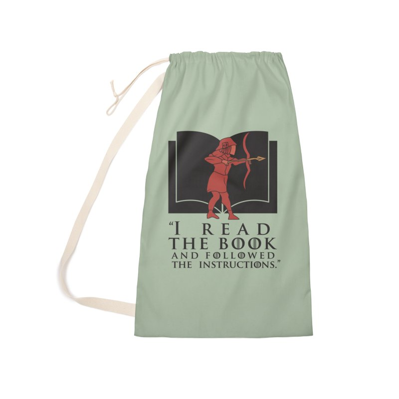 I read the book... dark print Accessories Bag by 21 Squirrels Brewery Shop
