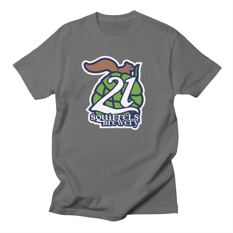 21 Squirrels Brewery Icon Logo Men's T-Shirt by 21 Squirrels Brewery Shop