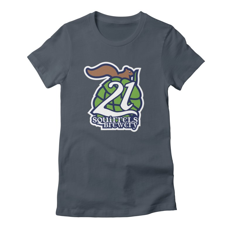 21 Squirrels Brewery Icon Logo Women's T-Shirt by 21 Squirrels Brewery Shop