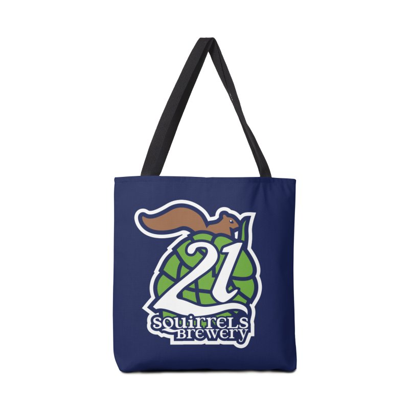 21 Squirrels Brewery Icon Logo Accessories Bag by 21 Squirrels Brewery Shop