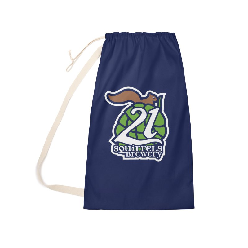21 Squirrels Brewery Icon Logo Accessories Laundry Bag Bag by 21 Squirrels Brewery Shop