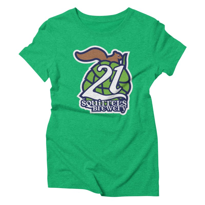 21 Squirrels Brewery Icon Logo Women's Triblend T-Shirt by 21 Squirrels Brewery Shop