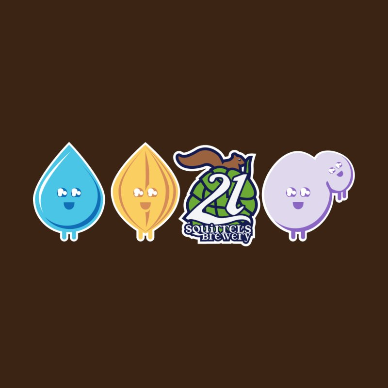 21 Squirrels Happy Ingredients Logo Version by 21 Squirrels Brewery Shop