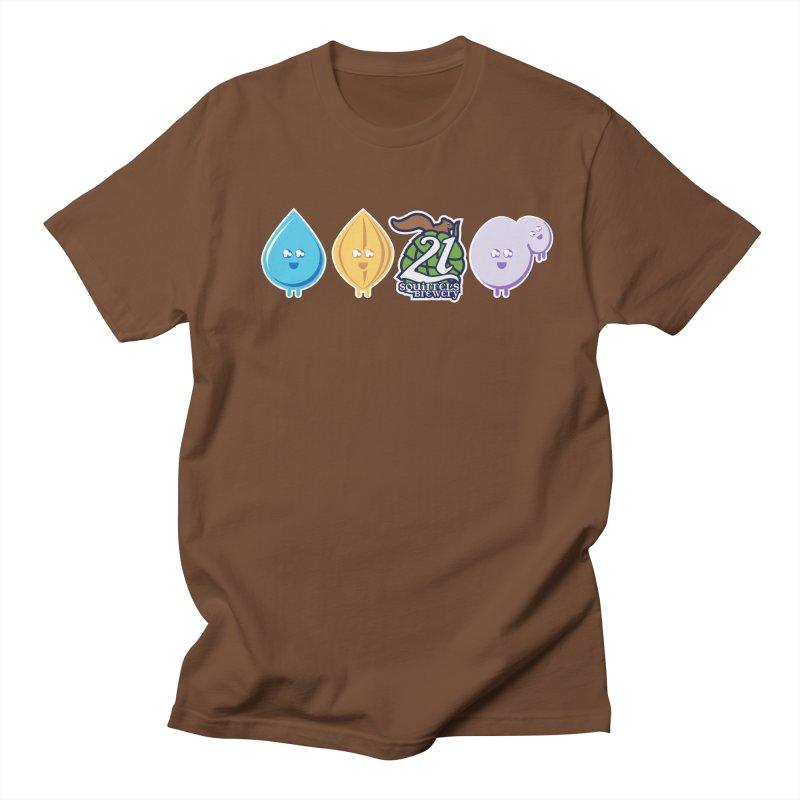 21 Squirrels Happy Ingredients Logo Version Men's T-Shirt by 21 Squirrels Brewery Shop