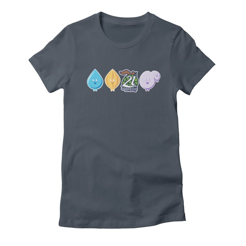 21 Squirrels Happy Ingredients Logo Version Women's T-Shirt by 21 Squirrels Brewery Shop