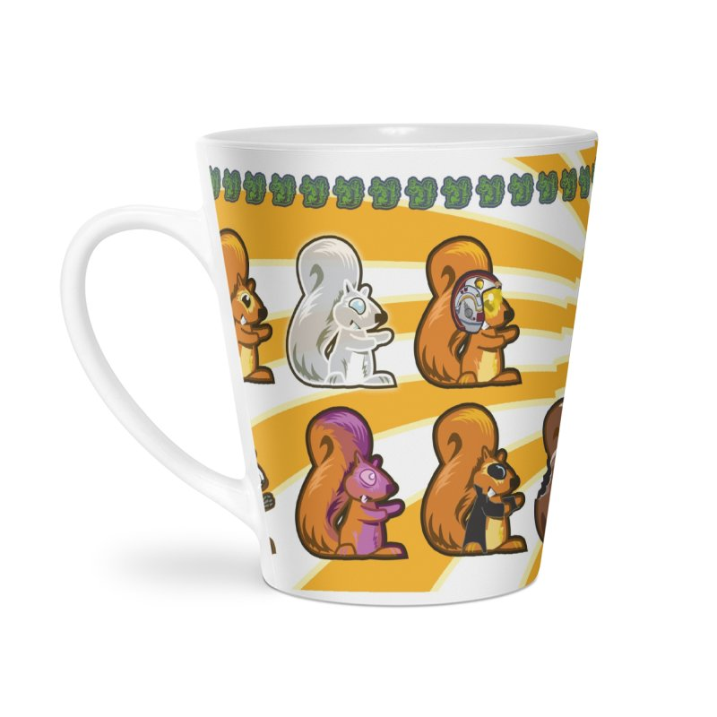 21 Squirrels Coffee Mug Accessories Latte Mug by 21 Squirrels Brewery Shop