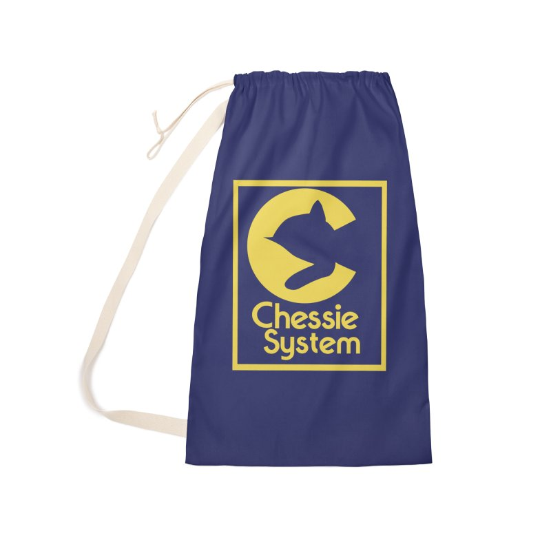 Chessie System Railroad Logo Accessories Laundry Bag Bag by 21 Squirrels Brewery Shop