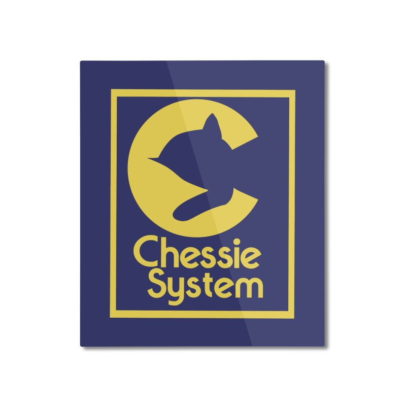 Chessie System Railroad Logo Home Mounted Aluminum Print by 21 Squirrels Brewery Shop