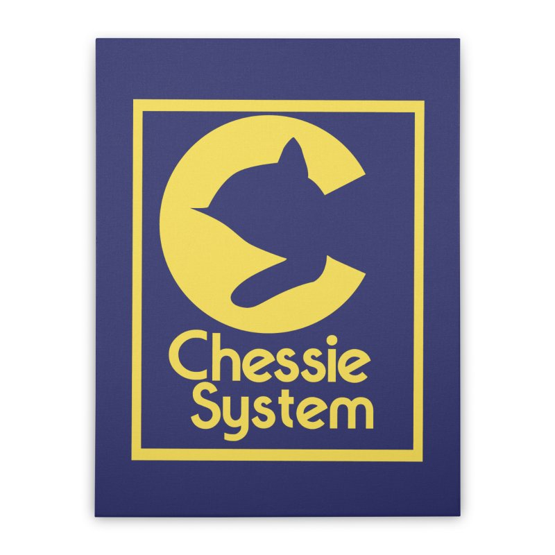 Chessie System Railroad Logo Home Stretched Canvas by 21 Squirrels Brewery Shop