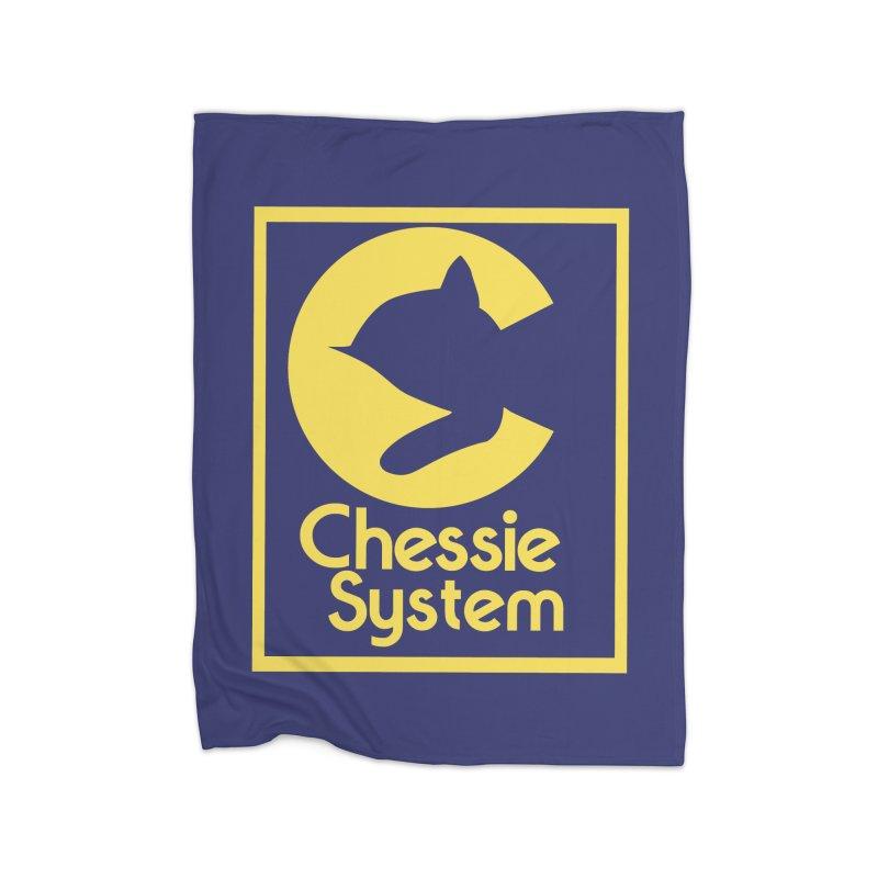 Chessie System Railroad Logo Home Fleece Blanket Blanket by 21 Squirrels Brewery Shop