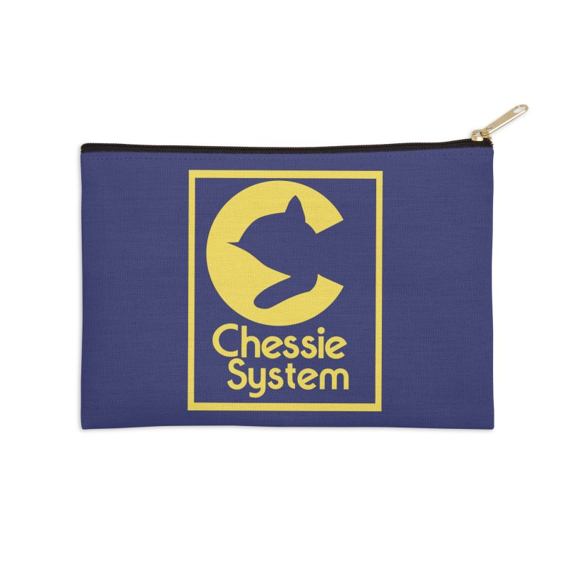 Chessie System Railroad Logo Accessories Zip Pouch by 21 Squirrels Brewery Shop