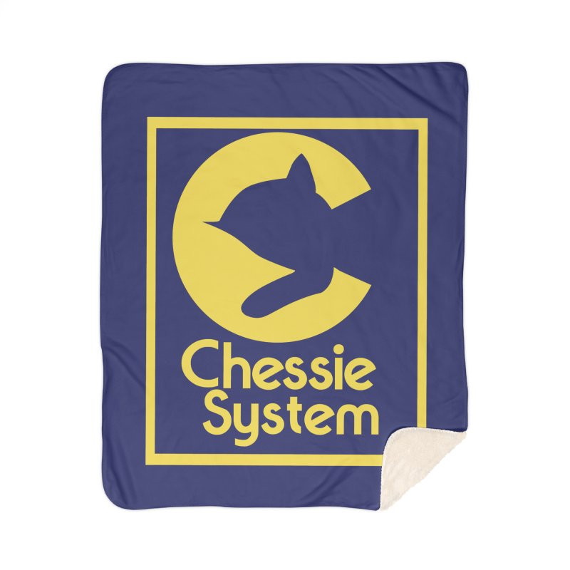 Chessie System Railroad Logo Home Sherpa Blanket Blanket by 21 Squirrels Brewery Shop
