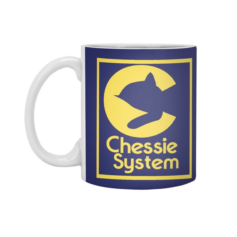 Chessie System Railroad Logo Accessories Mug by 21 Squirrels Brewery Shop
