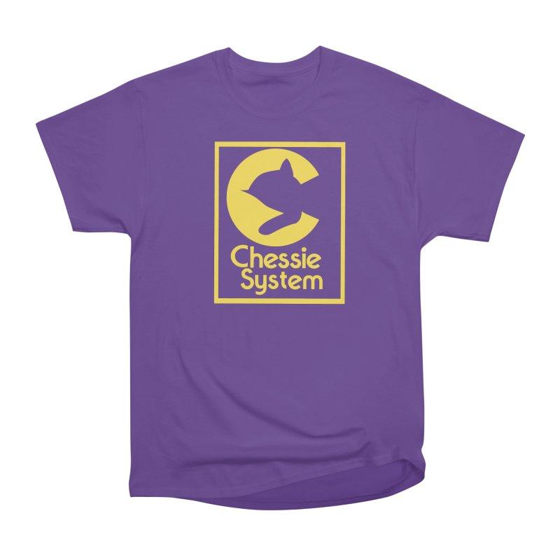 Chessie System Railroad Logo Men's Heavyweight T-Shirt by 21 Squirrels Brewery Shop