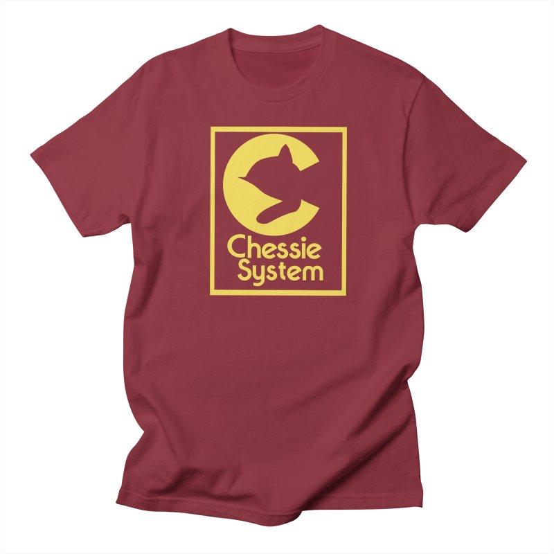Chessie System Railroad Logo Men's Regular T-Shirt by 21 Squirrels Brewery Shop