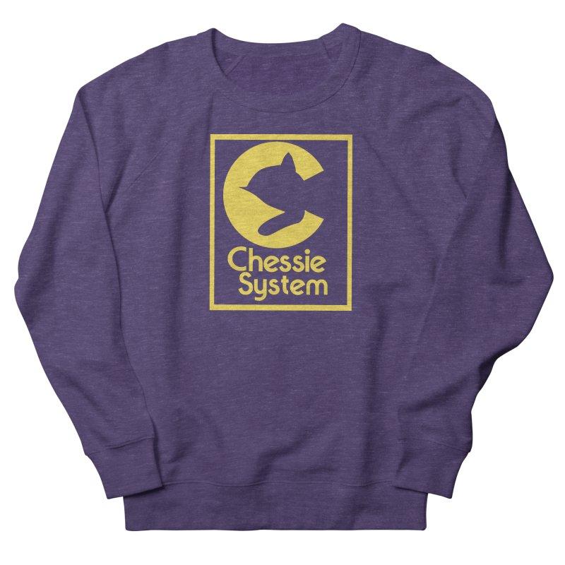 Chessie System Railroad Logo Men's French Terry Sweatshirt by 21 Squirrels Brewery Shop
