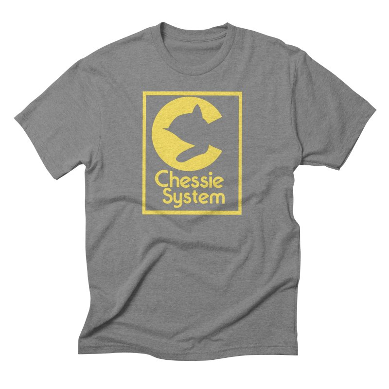 Chessie System Railroad Logo Men's Triblend T-Shirt by 21 Squirrels Brewery Shop