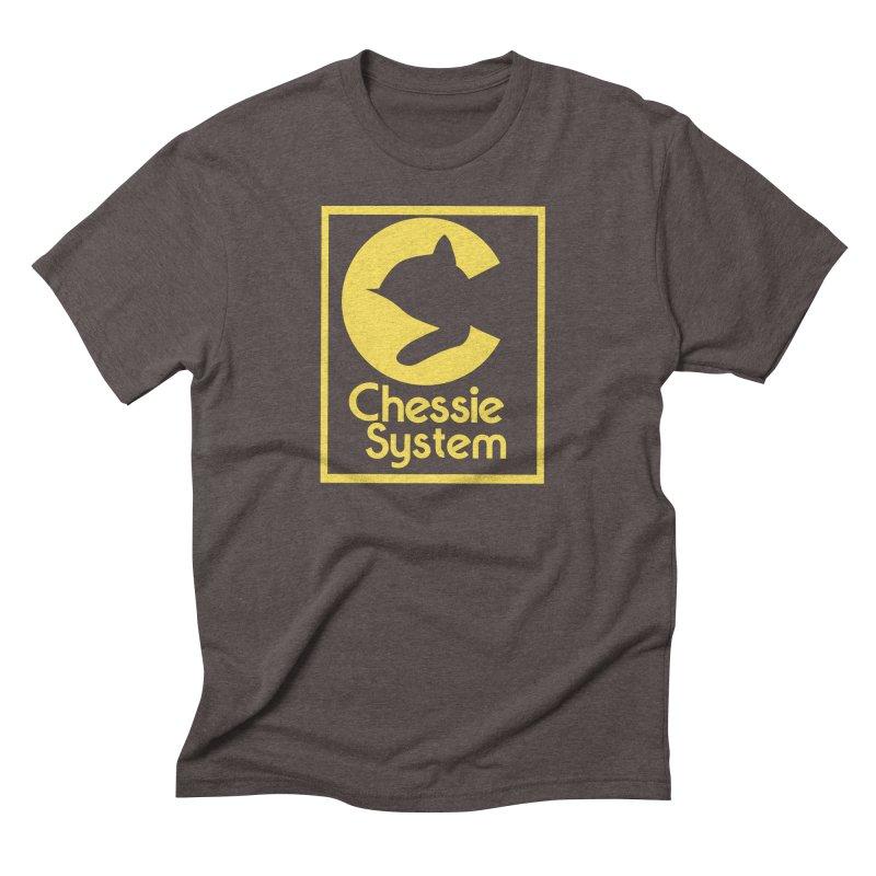 Chessie System Railroad Logo Men's Triblend T-Shirt by 21 Squirrels Brewery Shop
