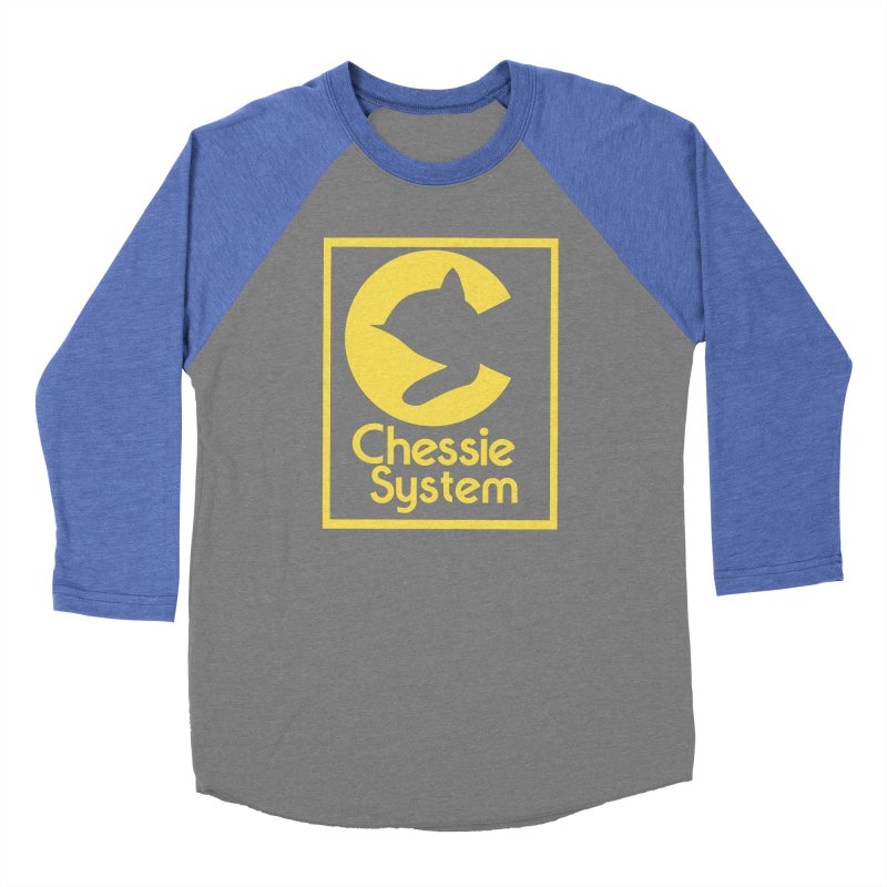 Chessie System Railroad Logo Men's Baseball Triblend Longsleeve T-Shirt by 21 Squirrels Brewery Shop