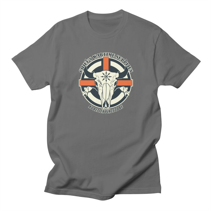 Chief's Wartime Supplies - WWI Men's Regular T-Shirt by 21 Squirrels Brewery Shop