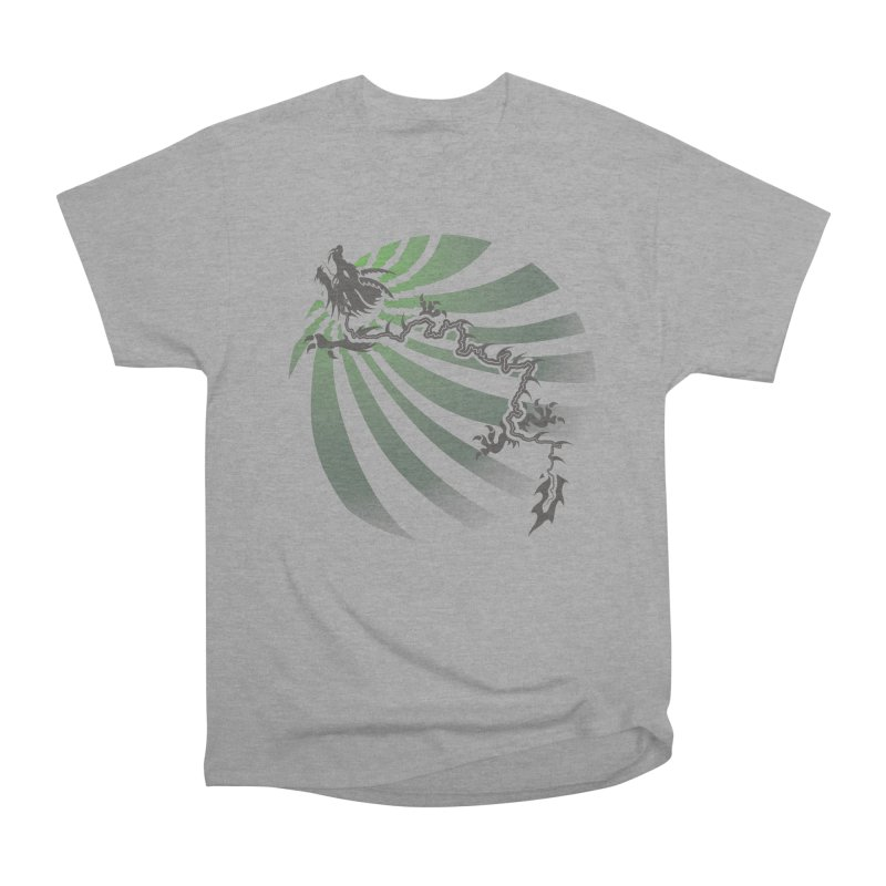 The Dragon - Burst - US129 Women's Classic Unisex T-Shirt by 21 Squirrels Brewery Shop