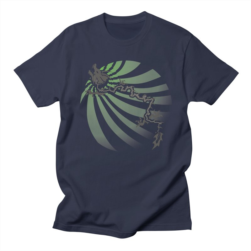 The Dragon - Burst - US129 Men's Regular T-Shirt by 21 Squirrels Brewery Shop