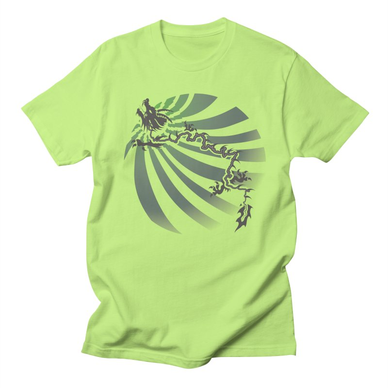 The Dragon - Burst - US129 Women's Unisex T-Shirt by 21 Squirrels Brewery Shop