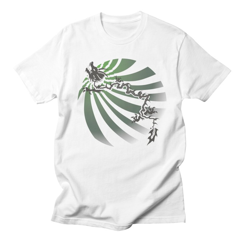 The Dragon - Burst - US129 Men's T-Shirt by 21 Squirrels Brewery Shop
