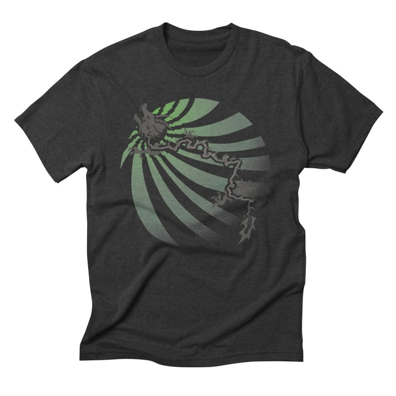 The Dragon - Burst - US129 Men's Triblend T-Shirt by 21 Squirrels Brewery Shop