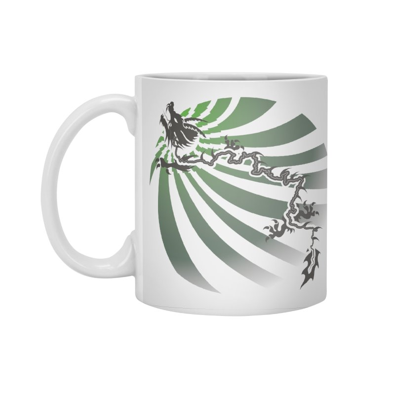 The Dragon - Burst - US129 Accessories Standard Mug by 21 Squirrels Brewery Shop